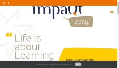 Site internet de Impaqt