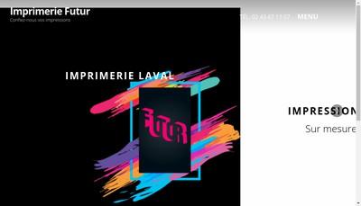Site internet de Imprimerie Futur