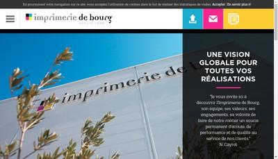 Site internet de Imprimerie de Bourg