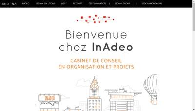 Site internet de Inadeo