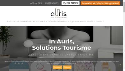 Site internet de In Auris
