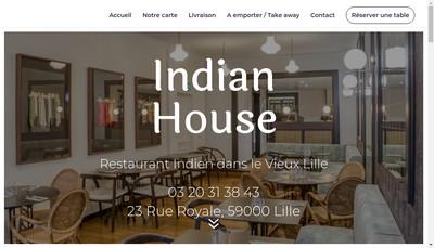 Site internet de Indian House