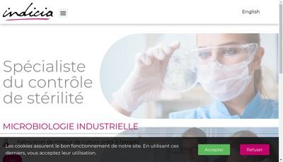 Site internet de Indicia Production