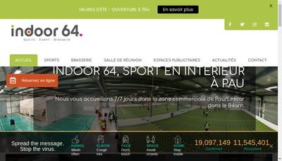 Site internet de Sport Indoor 64 Brasserie la Recup