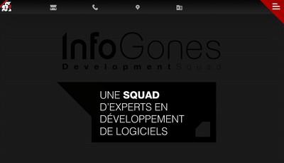 Site internet de Infogones