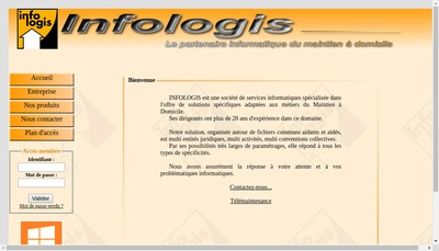 Site internet de Infologis