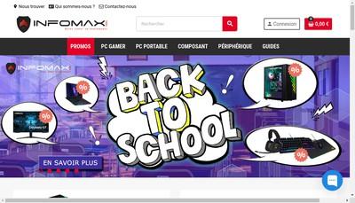 Site internet de Infomax