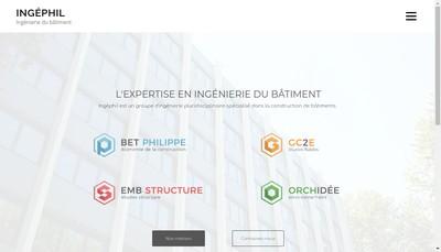 Site internet de Ingephil
