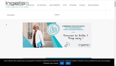 Site internet de Ingetis