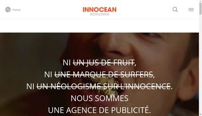 Site internet de Innocean Worldwide France
