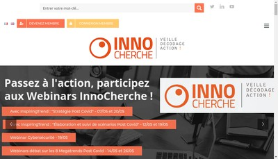 Site internet de Innocherche