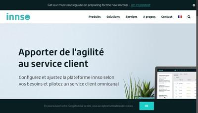 Site internet de Innso