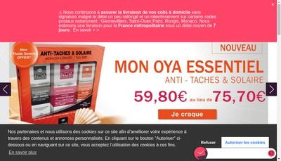 Site internet de Laboratoire In'Oya