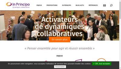 Site internet de In Principo
