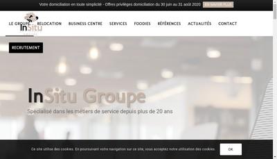 Site internet de Insitu Business Club