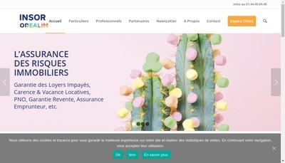 Site internet de Insor