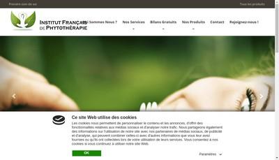 Site internet de Institut Francais de Phytotherapie