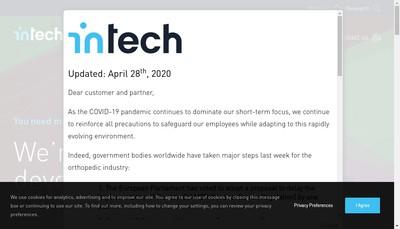 Site internet de In Tech M2I