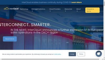 Site internet de Intercloud