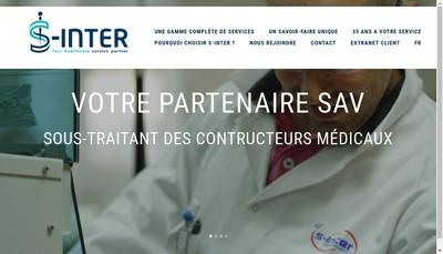 Site internet de S Inter SA