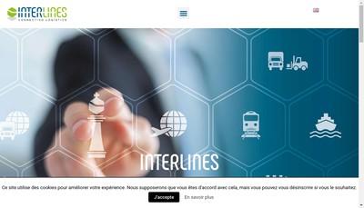 Site internet de Interlines