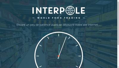 Site internet de Interpole