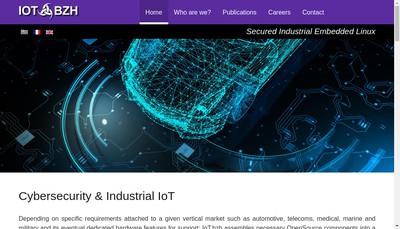 Site internet de Iot Bzh