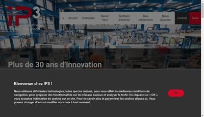 Site internet de Ip3 Lyon