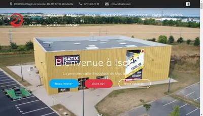 Site internet de Isatix