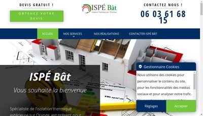 Site internet de Ispe Bat