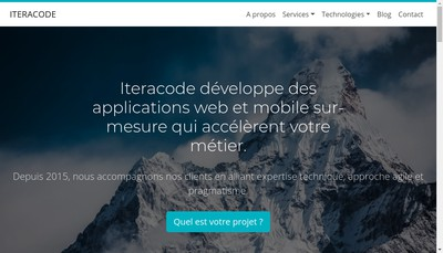 Site internet de Iteracode