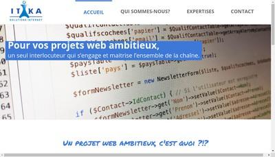 Site internet de Itika-Groupe