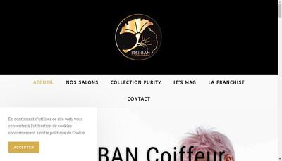 Site internet de Itsi Ban