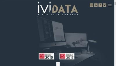 Site internet de Ividata Expertise