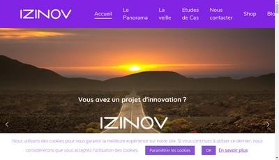 Site internet de IZI'NOV