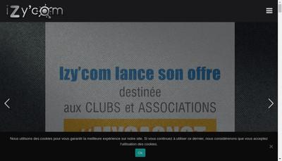 Site internet de Izy'Com
