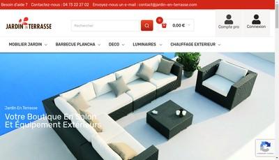 Site internet de Jardin-en-Terrasse Com