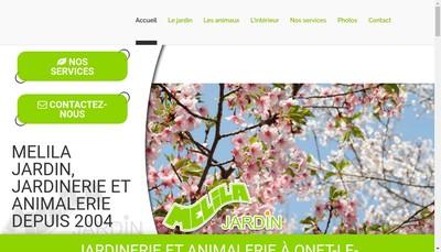 Site internet de Melila Jardin