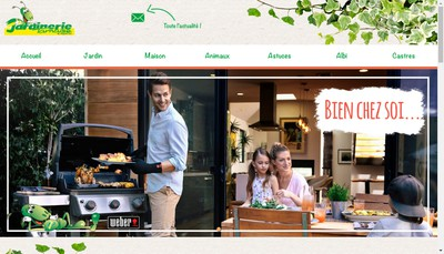 Site internet de Jardinerie Tarnaise
