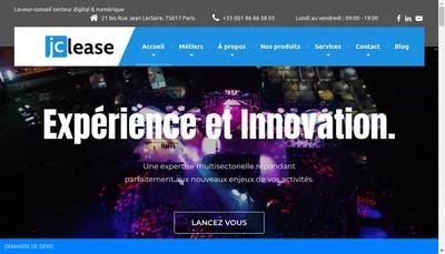 Site internet de Jclease