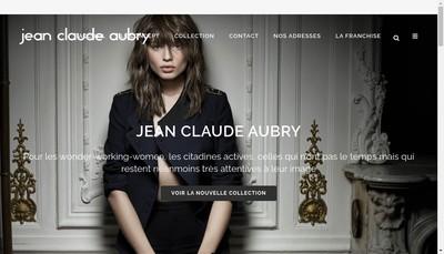 Site internet de Jean-Claude Aubry Coiffure