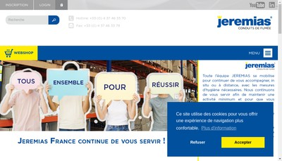 Site internet de Jeremias France