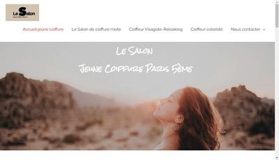 Site internet de Societe Jeune Coiffure