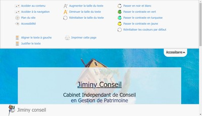 Site internet de Jiminy Conseil