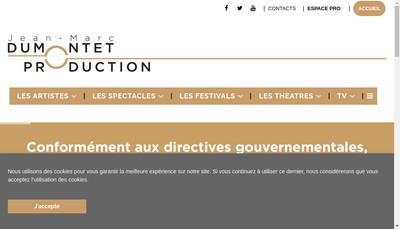 Site internet de Jmd Production