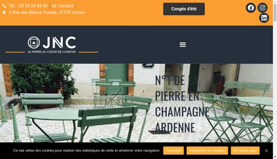 Site internet de Jnc