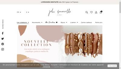 Site internet de Jolie Demoiselle
