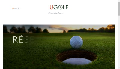 Site internet de SNC Ugolf Toulouse