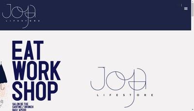 Site internet de Joya Lifestore
