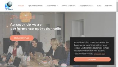 Site internet de Jpi Conseil